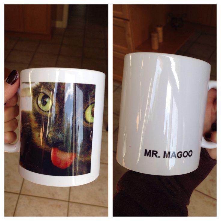 Mr. Magoo the cat Mug!! $12