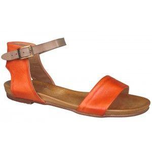 Larna orange sandal - Wittner
