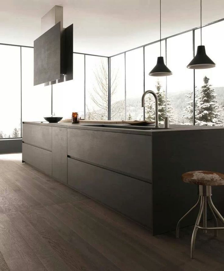cocina moderna #cocinas #kitchens #isla #open_kitchen #concrete_kitchen #island_kitchen