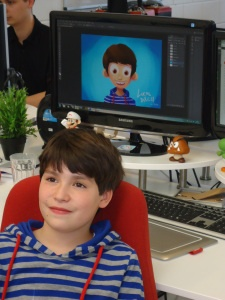 10-Year old Lucas wants to become a game developer - and when he told Make A Wish, we invited him for a peek behind the curtains.