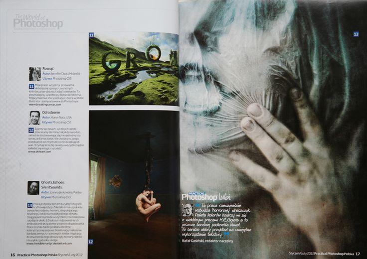 Practical Photoshop Polska publication Joanna Jankowska/ Artofinvi art of invi