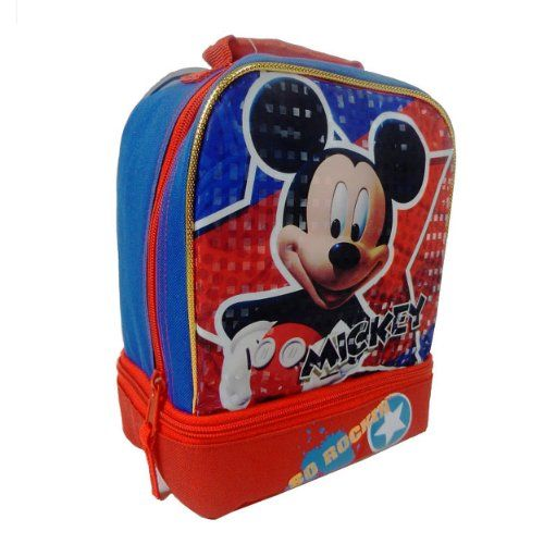 Disney Mickey Mouse So Rockin Dual Compartment Childrens School Lunchbox @ niftywarehouse.com #NiftyWarehouse #Disney #DisneyMovies #Animated #Film #DisneyFilms #DisneyCartoons #Kids #Cartoons