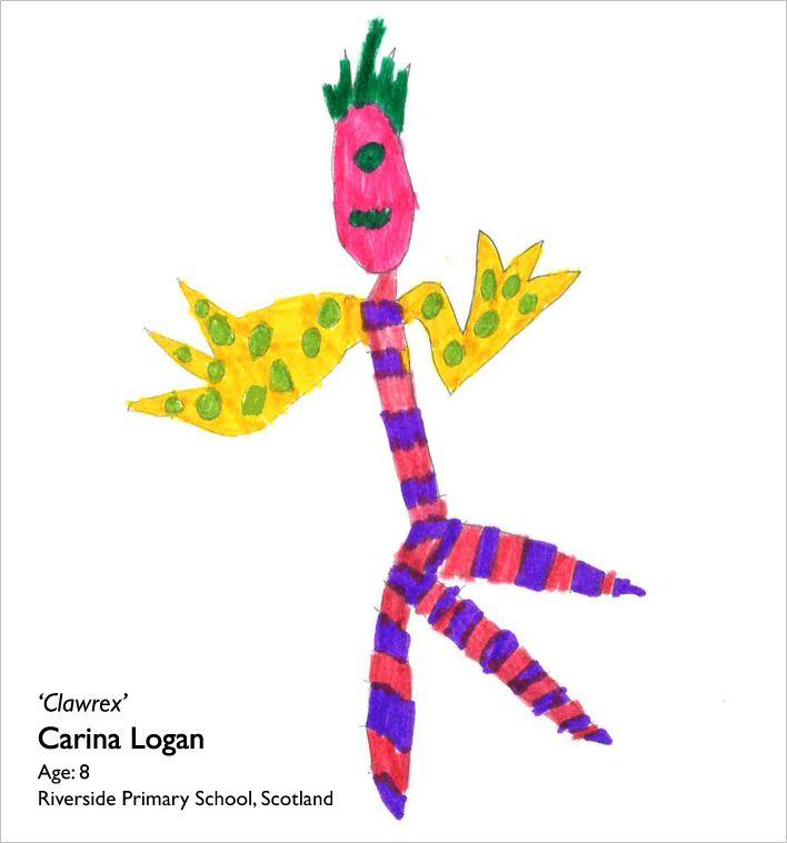 Clawrex by Carina Logan, age 8, Riverside Primary School