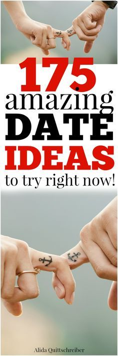 175 AMAZING dates to try right now!! Need this!