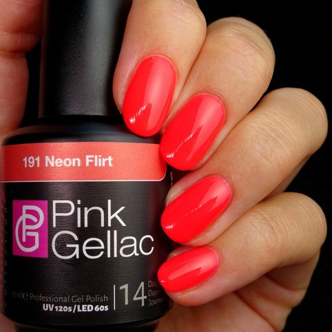 Smalto Semipermanente - 191 Neon Flirt 15 ml