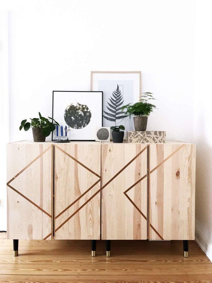 Wohnen mit Pflanzen | Grünes Wohnzimmer | Einrichten | Scandi | Green Living | Modern wohnen | Pflanzen | Greenery | Ikea Ivar Hack | Prettypegs | Urban Jungle Bloggers | paulsvera