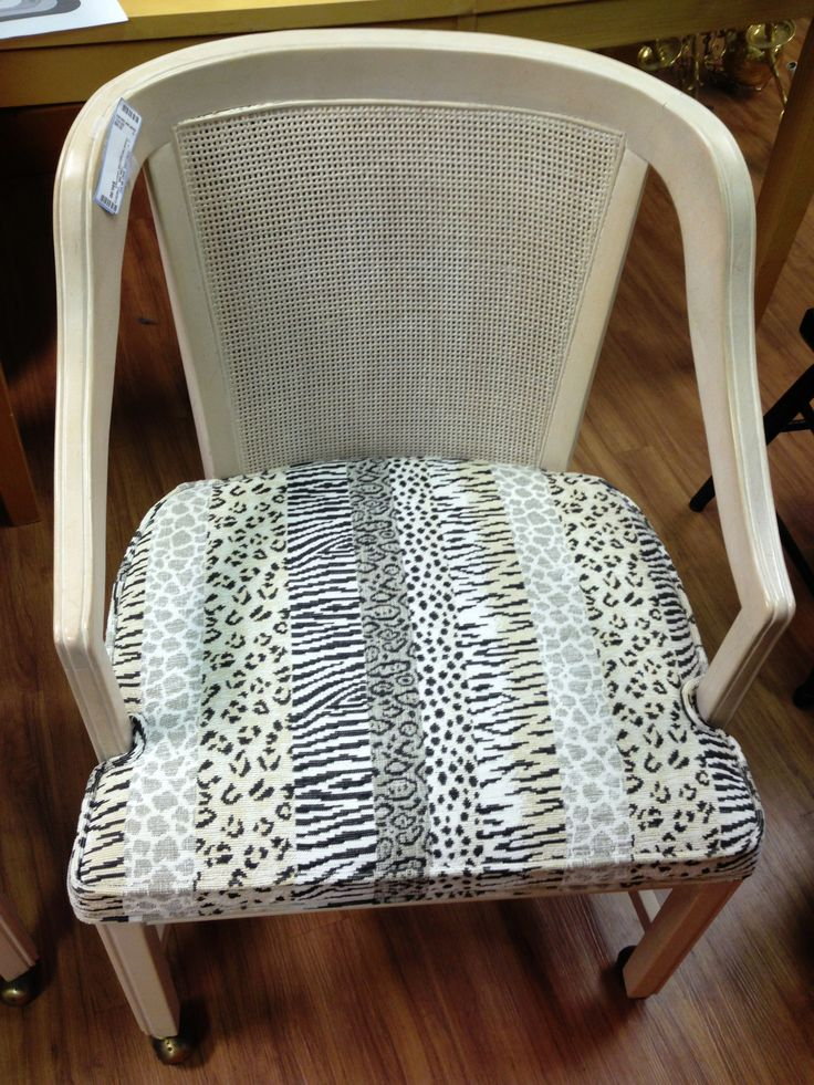 Animal print chair (set of two)