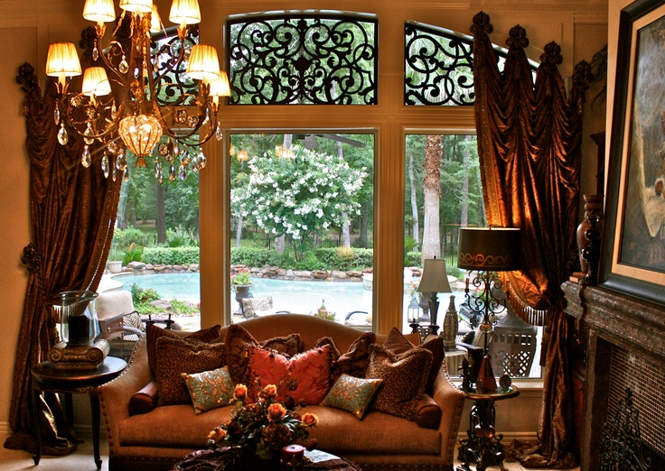 Tableaux is a great treatment for transom windows. Learn more by visiting Tableaux.com today. #windowtreatments #homedecor