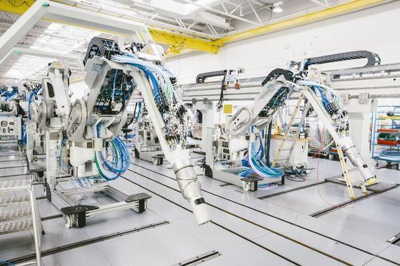 Kabel für Industrieroboter