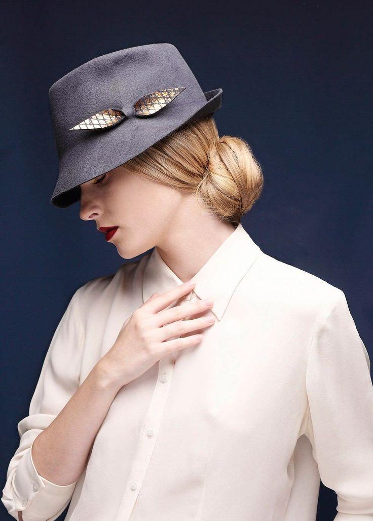 Felt Fedora Hat For Women & Men