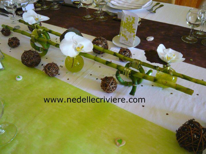 Ordinary Deco De Table Zen #3: Centre De Table Original Avec Lucky Bambou
