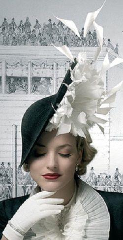 *Royal Ascot hat by Philip Treacy