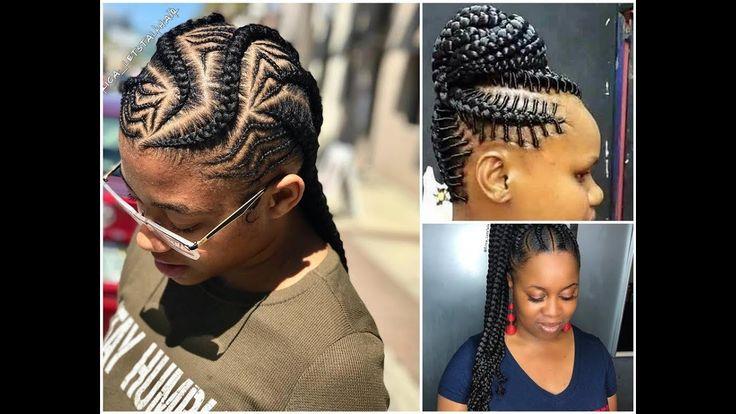 Hairstyles Braids 2018: 323 Best Ghana Weaving Styles Images On Pinterest