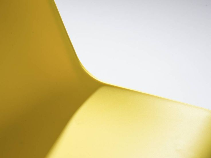 Colorful spring awakening. Check out the SCHÄFER chair in sulfur yellow.