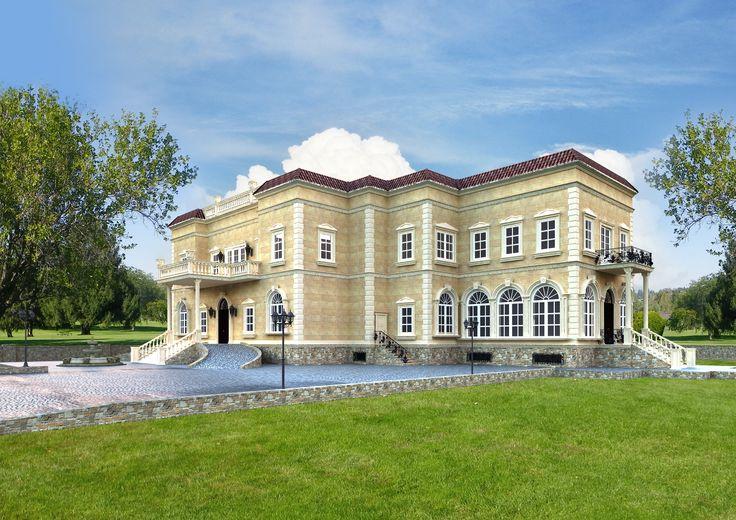 Luxury Villa Render
