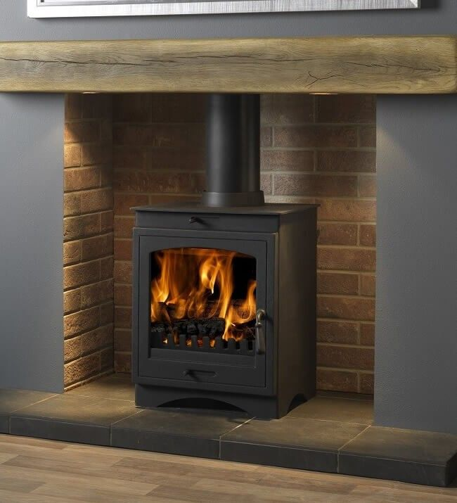 Helios 8 Cleanburn Defra Approved Multi Fuel Stove In 2020 Wood