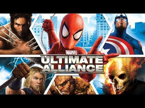 MARVEL: ULTIMATE ALLIANCE All Cutscenes (Game Movie) 1080p 60FPS