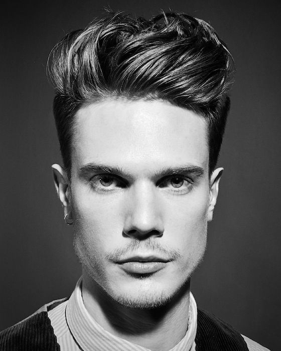 Miraculous 1000 Images About 50S Men Hair Style On Pinterest Rockabilly Short Hairstyles Gunalazisus