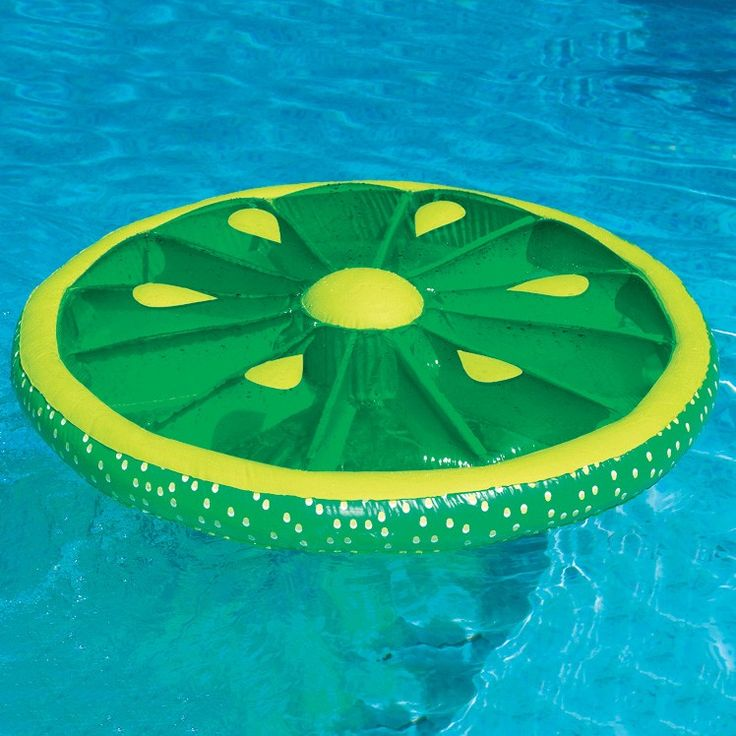 Swimline Fruit Slice Inflatable Island