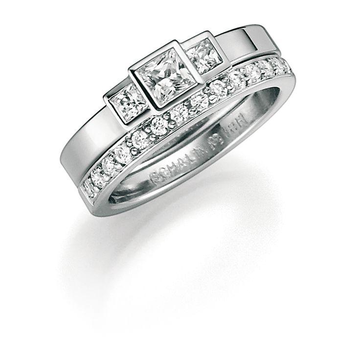 9 Carats Pivoines Bague De Mariage De Diamant H75 Schalins B5mElk8