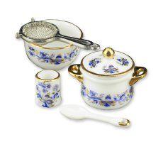 Blue Onion Cookware Set