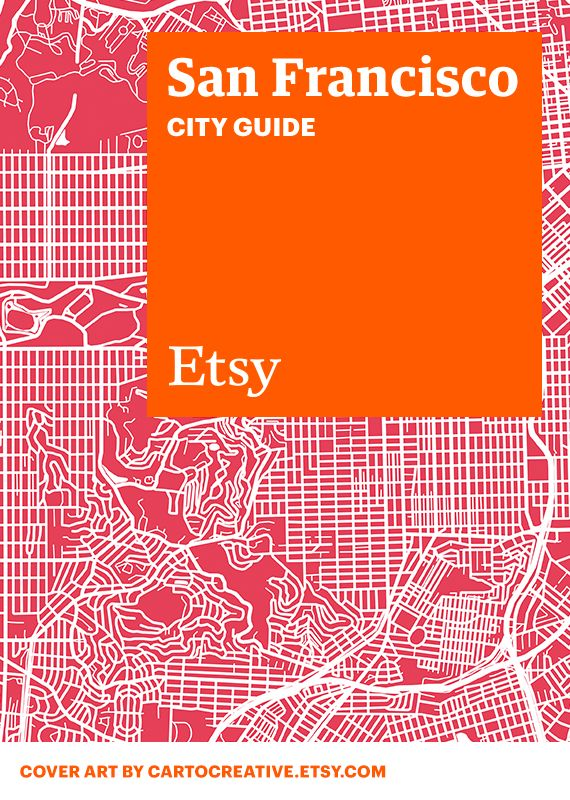 Discover unique items from Etsy designers in a boutique near you â?? plus inspiring cafes, bars, and more â?? with this handy guide. #etsy #cityguide #sanfrancisco
