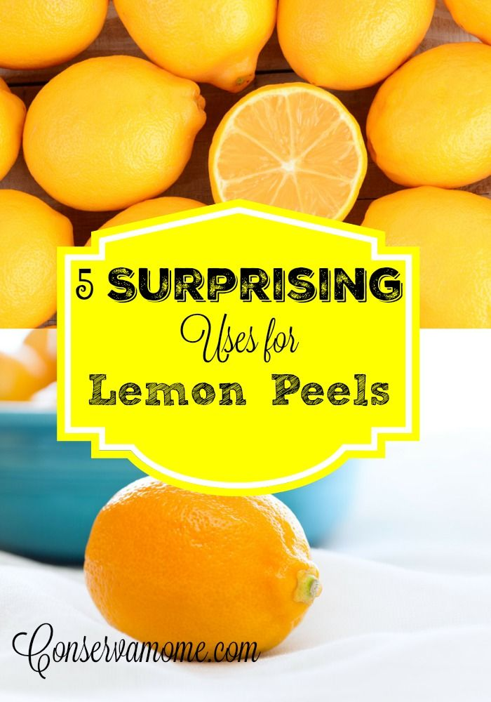 Lemons aren't just for Lemonade here are 5 Surprising Uses for Lemon Peels that are going to make life easier. Perfect life hacks!