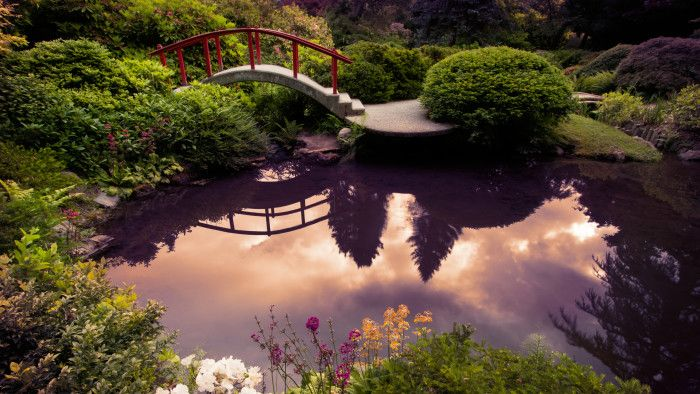 Kubota Gardens, Seattle - If you and your guest will be near the city, the enchanting scenery here in the Rainier Beach neighborhood is worth stopping by to see. This gorgeous 20-acre Japanese garden dates all the way back to 1927, and features flowers, ponds, waterfalls and a dazzling moon bridge.