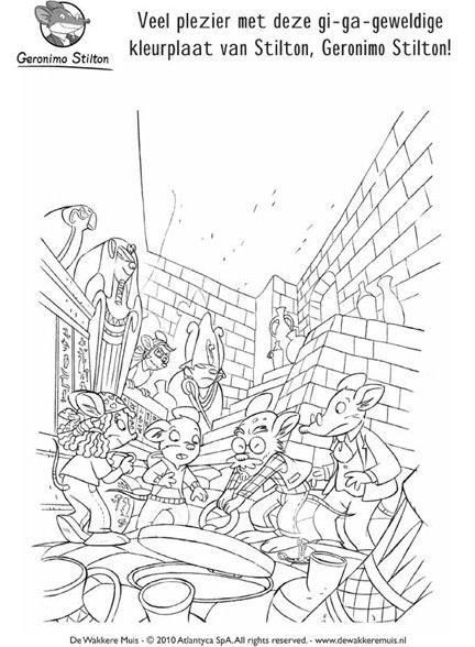 8 best geronimo stilton images on pinterest geronimo for Geronimo stilton coloring pages free