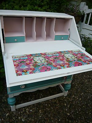SHABBY CHIC BUREAU WRITING DESK IN PIP STUDIO DESIGN | eBay