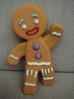 love Gingy To resemble my honey bunny just add candy cane!!