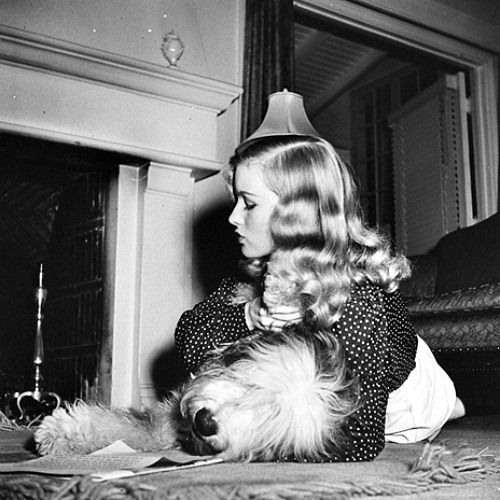 Veronica Lake and friend