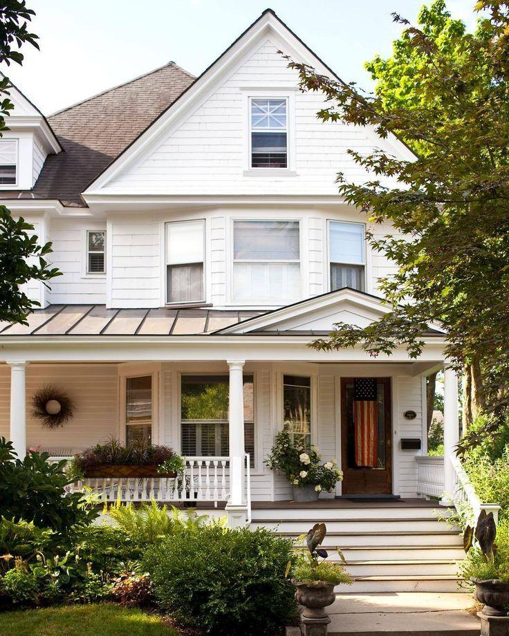 Best 25 House Exterior Design Ideas On Pinterest: Best 25+ White Farmhouse Exterior Ideas On Pinterest