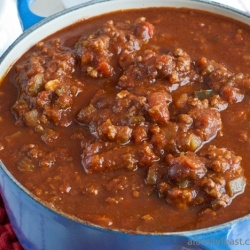 The Best Chili by AFamilyFeast