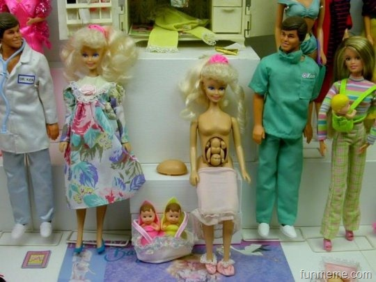 WTF Barbie – Funny Pic