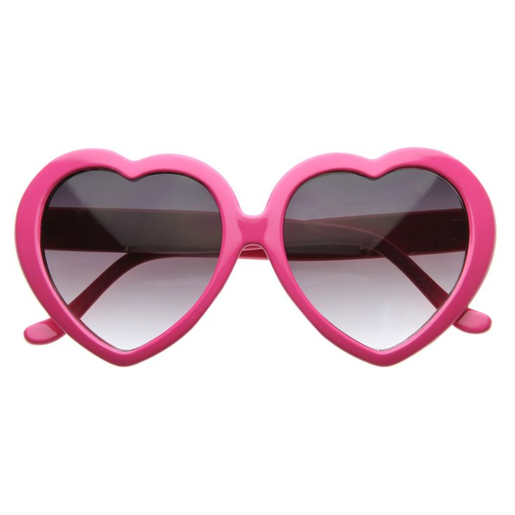 Super cute and super fun, these are sure to win over hearts on all your sunny days! Available in a variety of fun colors to match all your outfits. Made with an acetate based frame, metal hinges and g
