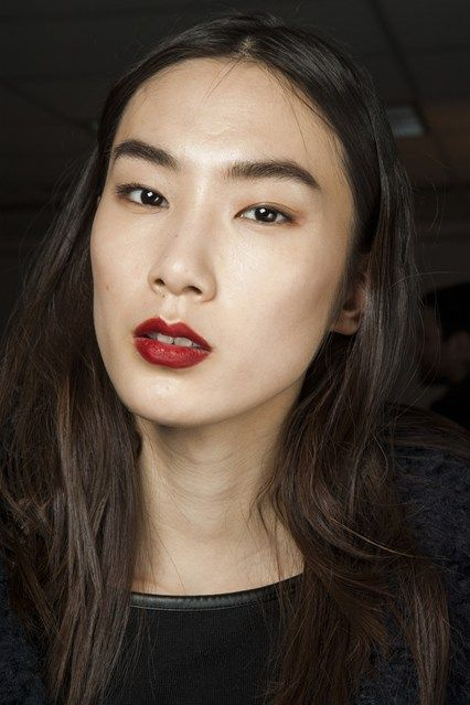 3.1 Phillip Lim- Tousled, soft waves by Paul Hanlon complemented off-centre partings.