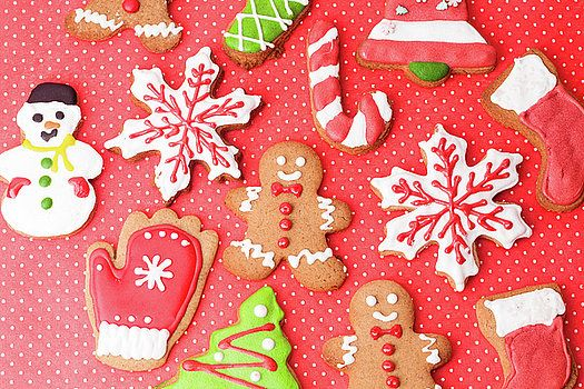 Christmas homemade gingerbread cookies by Nadya&Eugene Photography #Gingerbread #Christmas
