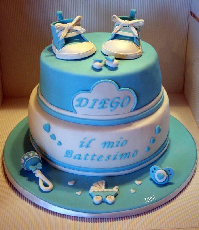 Baby boy's cake