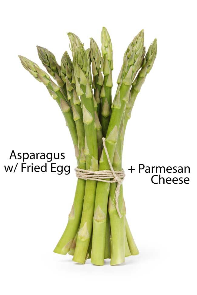 Asparagus, Nom nom and Awesome on Pinterest