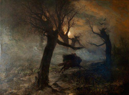 nataliakoptseva:  cosmikksacrifice:  Лесной царь, Юлиус фон Клевер, 1887