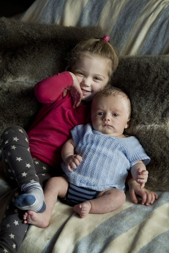 My two wee bundles! (Over a year ago now!)