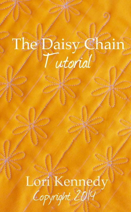 Daisy Chain, Free Motion Quilt Tutorial__ tons of free motion quilting patterns/ideas on this site.
