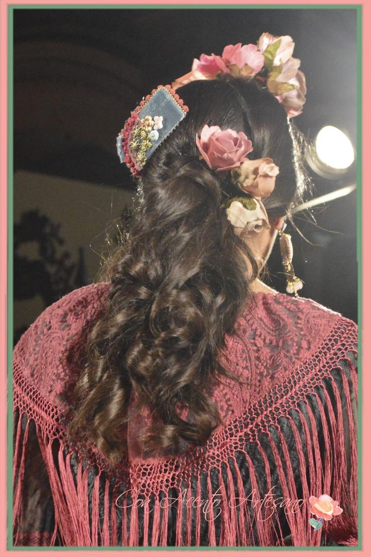 Ha hair accessories vancouver bc - Flores Y Peina Raquel Teran En We Love Flamenco 2015