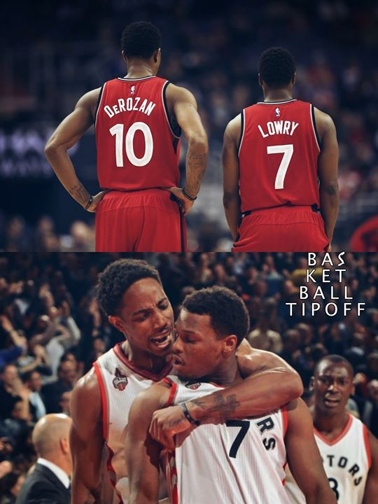 "Toronto Raptors DeMar DeRozan on his first year with Kyle Lowry. My first year with Kyle (Lowry) (we) didnt say a word to one another. We didnt speak. We didnt have a conversation. We didnt hang out. We didn't go eat. We didnt sit next to each other. I didnt have his phone number"". -AJHEAT"