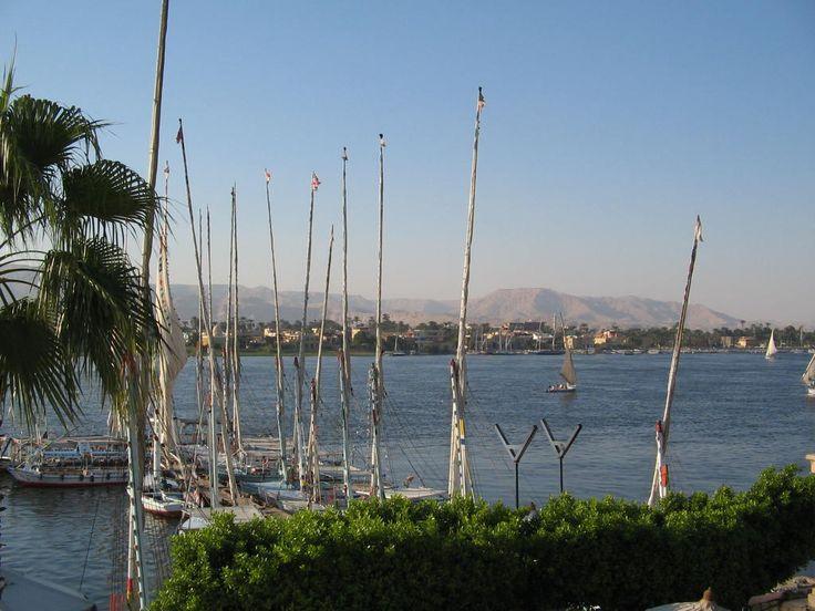 The Nile River near Luxor, Egypt. Photo: David Yustin