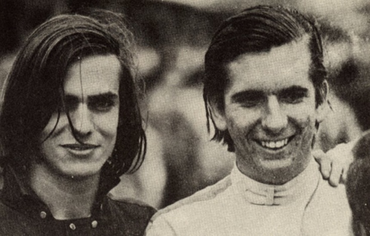 1967: aged 20, Emerson (with Ronnie Von) has won a VW-Beetle race at Rio de Janeiro