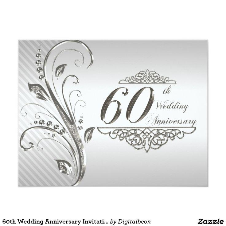 Приглашение с 60 летием открытки