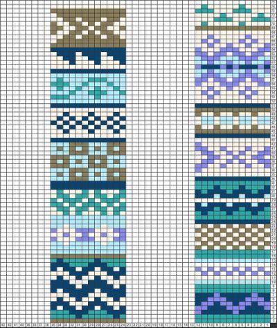 Fair Isle Knitting: Peeries – Handmadestitchbystitch