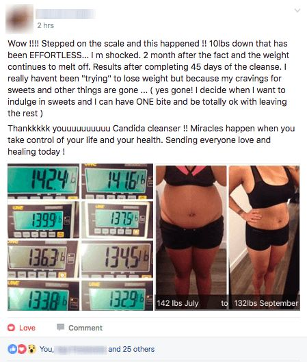 Get the proven plan to get candida fungus out of your body in as little as 45 days